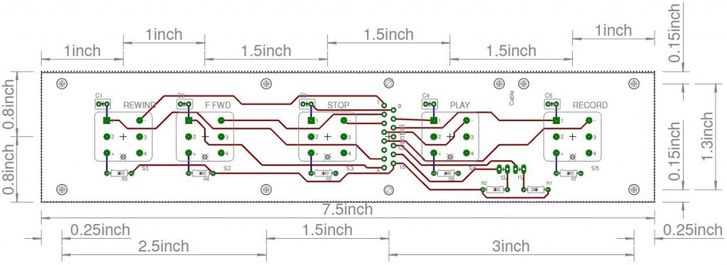 PCB layout without ground plane.